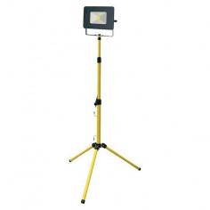 LED прожектор на статив Profi Depot Mobile - 20 W, 4000 К, 1600 lm, IP65, ДxШxВ 18x12,6x3,6 см
