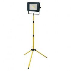 LED прожектор на статив Profi Depot Mobile - 50 W, 4000 К, 4000 lm, IP65, ДxШxВ 26x18,2x4,1 см