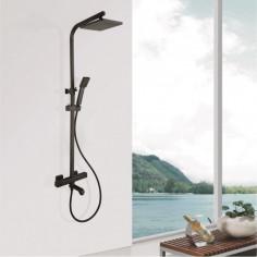 Душ система Inter Ceramic Лоран 6401B - Термостатен смесител, ръчен душ, душ пита