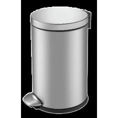 """Кош за отпадъци с педал """"LUNA"""" - 3 литра - мат"""
