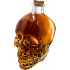 Стъклена бутилка за алкохол - череп - 0,750 л.