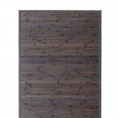 Бамбукова постелка за баня RELAX - цвят тъмно кафяв - 70x130 см