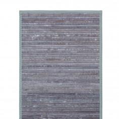 Бамбукова постелка за баня RELAX - цвят сив - 70x130 см