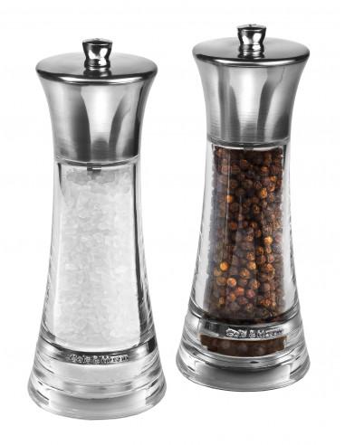 """Комплект мелнички за сол и пипер """"MONACO"""" - 17,5 см."""