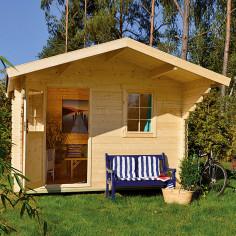 Дървена градинска къща -...