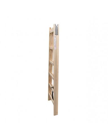 Дървена стълба Eko - 2х6 стъпала, работна височина 250 см