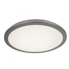 LED плафон Sandis - 18 W, 4000 К, 1400 lm, IP44, Ø30 см, бял, сребрист