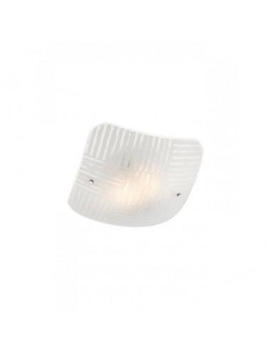 Плафон Redo Sektor - 2х42 W, 2хE27, 40х40 см, бял