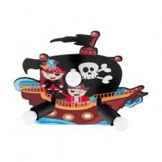 Плафон San Carlo 97408 - 3х60 W, 3хЕ27, ДхШхВ 42,5х43,5х8 см, мотив пирати