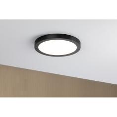 LED плафон Paulmann Abia - Ø300 мм, 22 W, 2700 К, 3200 lm, черен, мат