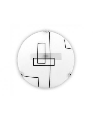 Плафон Геос 4640 - 2х60 W, 2хЕ27, Ø40 см