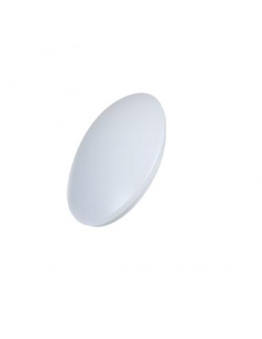 LED плафон - 20 W, WH+WW, Ø350 мм, 3000 К, 170 lm, бял