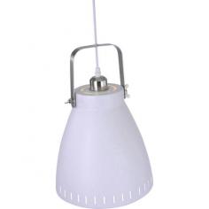 Пендел Leuchten Direkt Eva - До 60 W, Е27, ØхВ 21,5х120 см, стомана, бяла