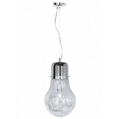 Пендел Futura - E27, хром/ стъкло
