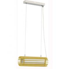 Пендел Wofi Jardin - До 10 W,  33x150 см, Е27, дървесен декор