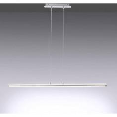 LED пендел LeuchtenDirekt Amilia - 16 W, 1600 lm, 3000 К, стомана