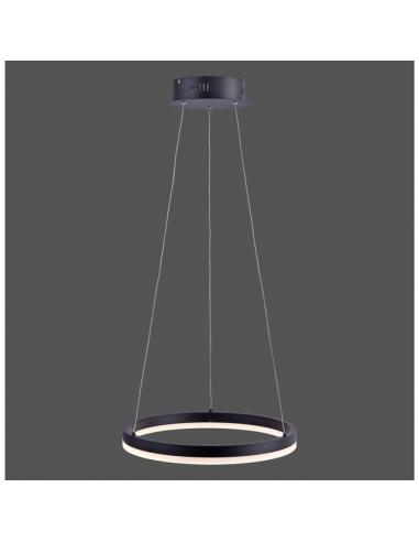 LED пендел Paul Neuhaus Titus - 28 W, 2000 lm, 3000 К, антрацит, димируем