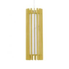 Пендел Wofi Jardin - До 10 W,  Ø11 см, 150 см, Е27, дървесен декор