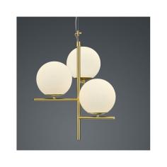Пендел Trio Pure - 28 W, 3xE14, ШхВ 40х150 см, IP20, бяла