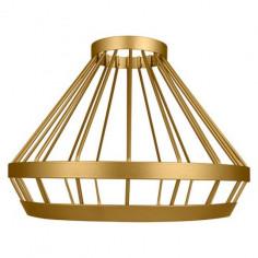 Шапка за пендел Ledvance Cage Vintage 1906 - Ø23,9 см, алуминиева, златиста