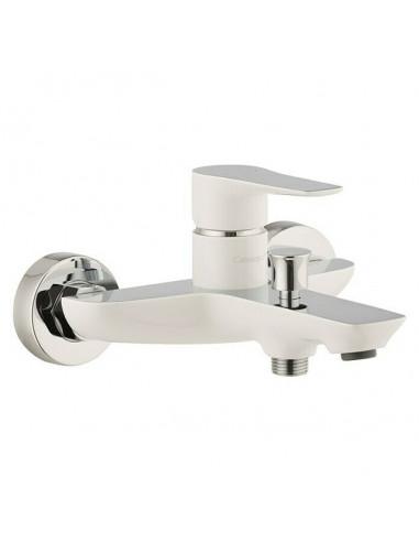 Смесител за вана и душ Frost - Бял/хромиран
