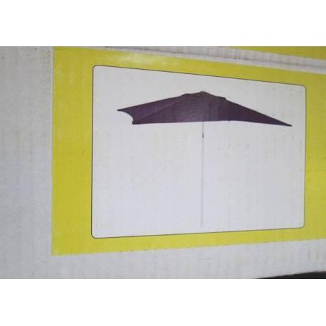 Градински чадър - 300x300 см, антрацит