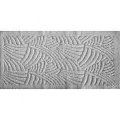 Килим за баня Japan Перла - 60х100 см, 100% памук, сив