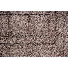 Килим за баня Sibylle - 55x90 см, кафяв