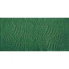Килим за баня Japan Tiffani - 60х100 см, 100% памук, зелен