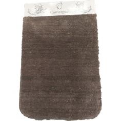 Килим за баня Wuschel - 60х90 см, микрофибър, кафяв