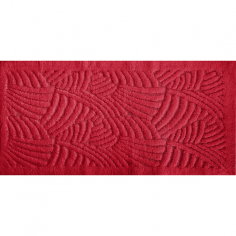 Килим за баня Japan Корал - 60х100 см, 100% памук, червена