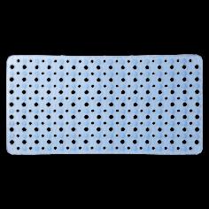 Противохлъзгаща постелка за баня Mesh - 34х73 см, синя, PVC