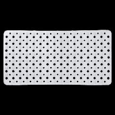 Противохлъзгаща постелка за баня Mesh - 37х73 см, бяла, PVC