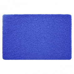 Постелка за баня Noodles - 40х60 см, PVC, синя