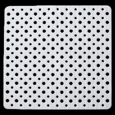 Противохлъзгаща постелка за баня Mesh - 55х55см, бяла, PVC