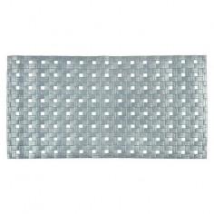 Противохлъзгаща постелка за баня Basky - 72х37 см, сива, PVC