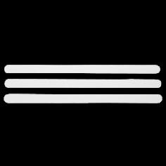 Противохлъзгащи ленти за баня - 2х38 см, 9 броя, прозрачни, PVC