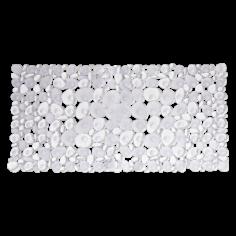 Противохлъзгаща постелка за баня Sasso - 36х71 см, прозрачна, PVC