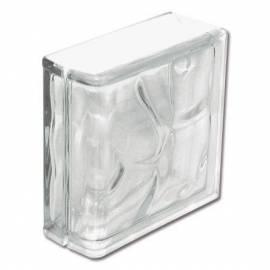 Стъклени тухли - завършващи 19x19x8 см