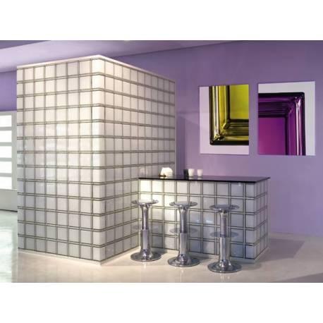 Стъклени блокчета -прозрачни 19x19x8 см