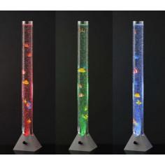 LED лампа аквариум с риби и мехури - RGB, 3,8 W