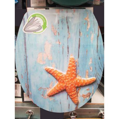 Капак за тоалетна чиния - Морска звезда