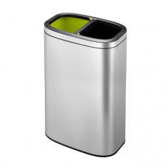 Отворен кош за отпадъци...