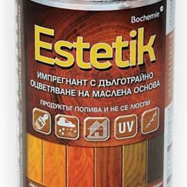 Импрегнатор за дърво - Бохемит Естетик, 1 кг - махагон