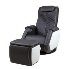 Масажен стол SMART V + масажна табуретка - цвят черен