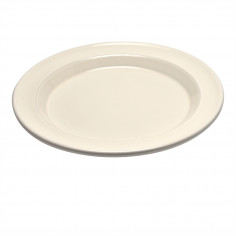 """Керамична основна чиния """"DINNER PLATE"""" - цвят екрю"""