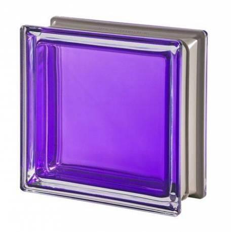 Стъклени тухли - Виолетови 19x19x8 см