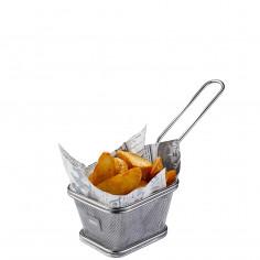 """Кошница за сервиране на пържени картофи """"BBQ"""" - малка"""