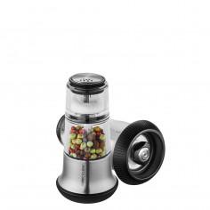 Мелничка за пипер със солница X-PLOSION® - 2в1 - цвят инокс