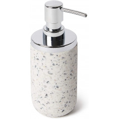 """Диспенсър за сапун """"JUNIP"""" - сив/бял"""